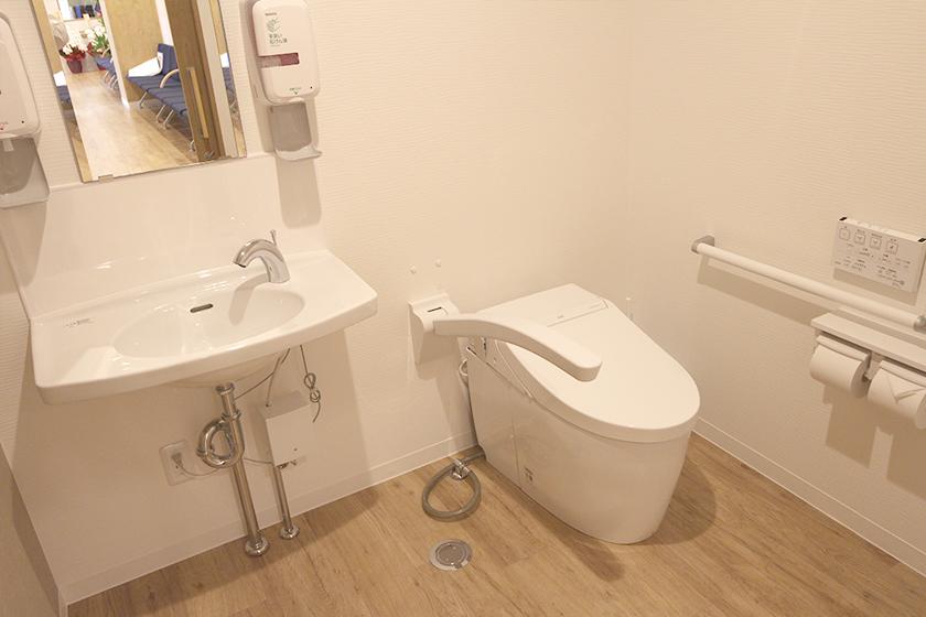 しおみ整形外科 痛み・関節クリニック お手洗い